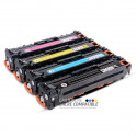 Compatible HP CB540A-CB541A-CB542A-CB543A - 125A Pack