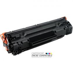Toner Laser Compatible HP CE278A - 78A Noir