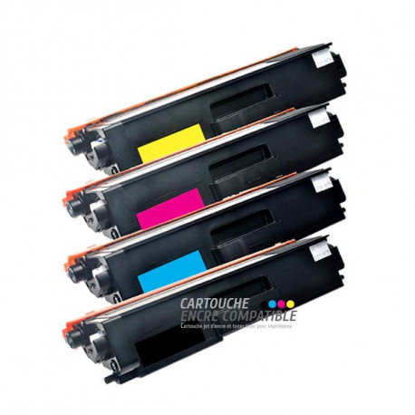 Pack de 4 Toners Laser Compatibles Brother TN325