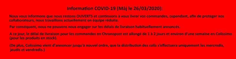 Bandeau COVID-19