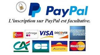 Paiement sécurisé avec Paypal et le Cédit Agricole